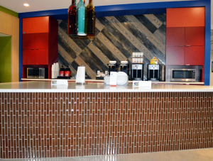 FSI Flooring and Countertop Cafeteria