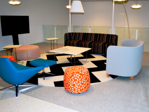FSI Commercial Flooring for Waiting Recreation Area