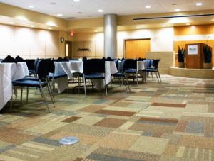 FSI commercial flooring for Conference room-Hillcrest Baptist Medical Center BSW Healthcare