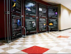 FSI Education commercial flooring for entry hallway UT Jackson School of Geosciences at J.J. Pickle