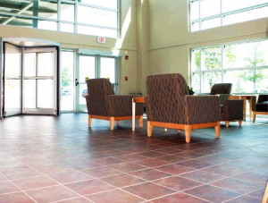 FSI commercial flooring for entry and Seating area-Hillcrest Baptist Medical Center BSW Healthcare