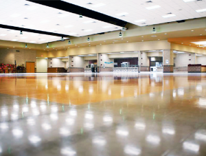 FSI commercial sports flooring for Dripping Springs High School Gym Project