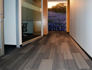 FSI Commercial Flooring for Corporate Hallways