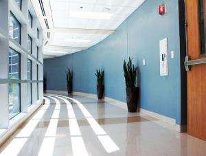 FSI medical commercial flooring for Hallway-Hillcrest Baptist Medical Center BSW Healthcare