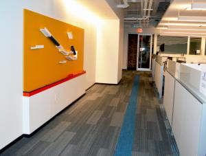 FSI Commercial Flooring for Corporate Entryway & Hallways