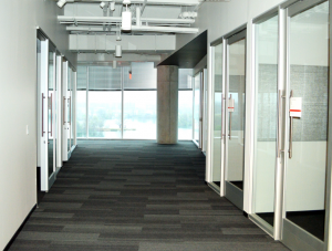 FSI Commercial Flooring for Corporate office Hallways