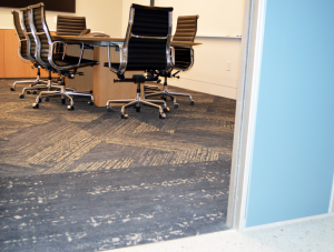 FSI commercial flooring for Office & Hallway