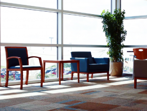 FSI Healthcare flooring for Office-Hillcrest Baptist Medical Center BSW Healthcare project