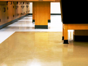 FSI commercial flooring for Recreation Room Dripping Springs High School project